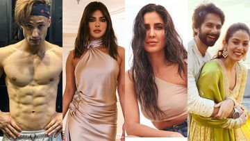 Most Liked INSTA PICS This Week: Asim Riaz's Shirtless Snap, Priyanka Chopra-Katrina Kaif's Epic Selfie, Mira's Blurry Wish For Shahid And MORE