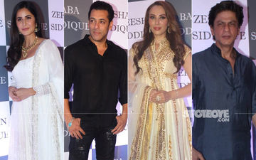 Salman-Shah Rukh Khan, Katrina Kaif, Iulia Vantur Sizzle At Baba Siddique's Iftaar Party- In Pics And Videos