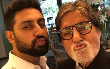 Elated Amitabh Bachchan Extends A Warm Welcome To 'Bhaiyu' Abhishek Bachchan As He Beats Coronavirus; Pens 'God Is Great'