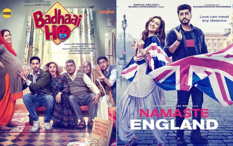 Badhaai Ho, Namaste England Box-Office Collection: 3 दिन बाद आयुष्मान खुराना की फिल्म के आगे अर्जुन कपूर की फिल्म का हुआ ये हाल