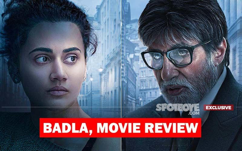 Badla, Movie Review: Pink Duo Amitabh Bachchan-Taapsee Pannu Get It Right Again