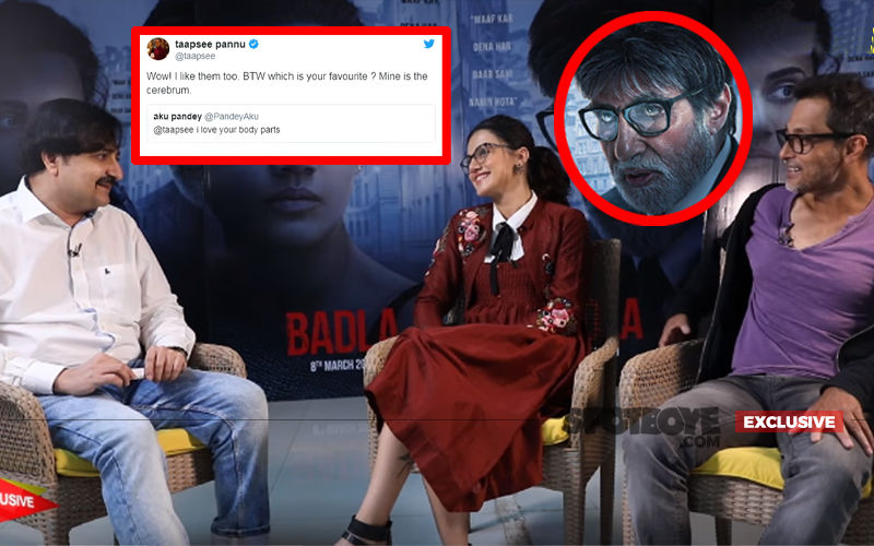 Badla Actress Taapsee Pannu Fires On All Cylinders: Exclusive Interview
