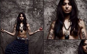 Bigg Boss 10 Contestant Bani J's Hot Topless Picture Goes Viral!
