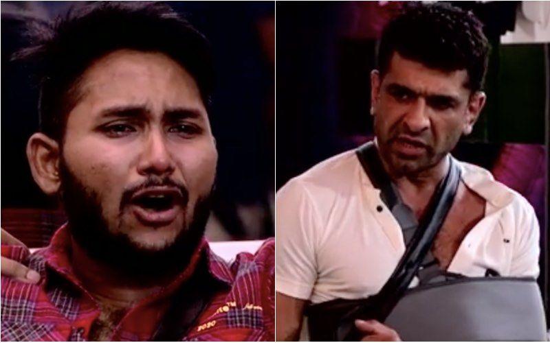Bigg Boss 14: Captaincy Task Sees A Tussle Between Jaan Kumar Sanu And Eijaz Khan; Jaan Ends Up Sobbing – Video