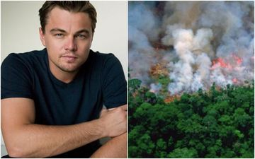 Leonardo Di Caprio Accused Of Funding To Torch The Amazon Forest, Claims Brazil President