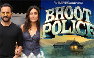 Bhoot Police: Pregnant Kareena Kapoor Khan Is Stoked About Her Husband Saif Ali Khan's Upcoming Film; Shares First Look