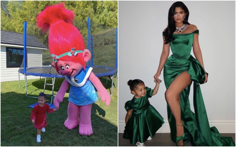 Christmas 2019: Kylie Jenner's Daughter Stormi 'Has Best Day Ever' With Poppy; Later Twins With Her Mommy