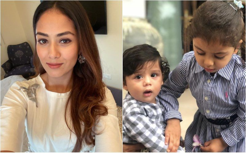 Mira Rajput Says 'She Must Have Done Something Right' As Her Babies, Misha And Zain Prepare A Heartwarming Salad For Their Mommy – SEE PIC