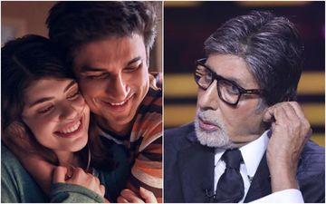 Kaun Banega Crorepati 12: Sushant Singh Rajput's Co-Star Sanjana Sanghi Reacts To Amitabh Bachchan's Question On Dil Bechara