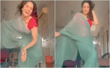 Ankita Lokhande Sensuously Swirls And Twirls As She Reminds Us Of Late Sridevi From Kaate Nahi Katte Song – VIDEO
