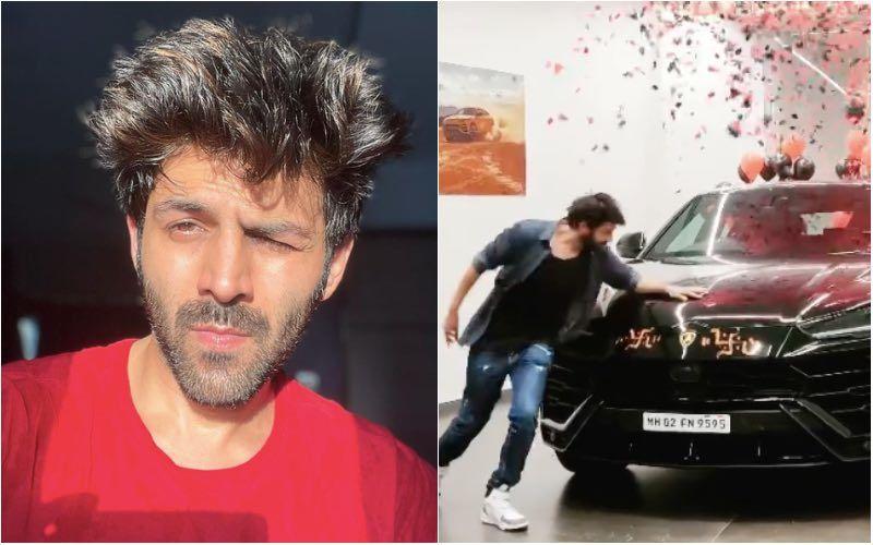 Kartik Aaryan Is Left Startled As He Poses Next To His Swanky New Car; Says 'Shayad Mehengi Cheezon Ke Liye Bana Hi Nahi Hoon' – VIDEO
