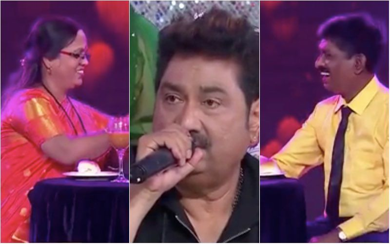 Indian Idol 12: Sayali Kamble's Parents Have A Romantic Date On Set; Guest Kumar Sanu Sets The Mood Right – VIDEO