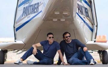Sooryavanshi: Akshay Kumar Shoots A Stunt With Rohit Shetty On The Last Day; Says It Will Blow Our Mind