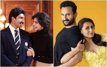 Ranveer Singh-Deepika Padukone's '83 NOT Releasing On Christmas; Saif Ali Khan-Rani Mukerji's Bunty Aur Babli 2 To Take Over The Festive Slot?