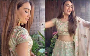 Diwali 2020: Naagin 3 Star Surbhi Jyoti Brings Out The Festive Charm As She Dons A Modern Yet Chic Lehenga; She Slays And How - WATCH