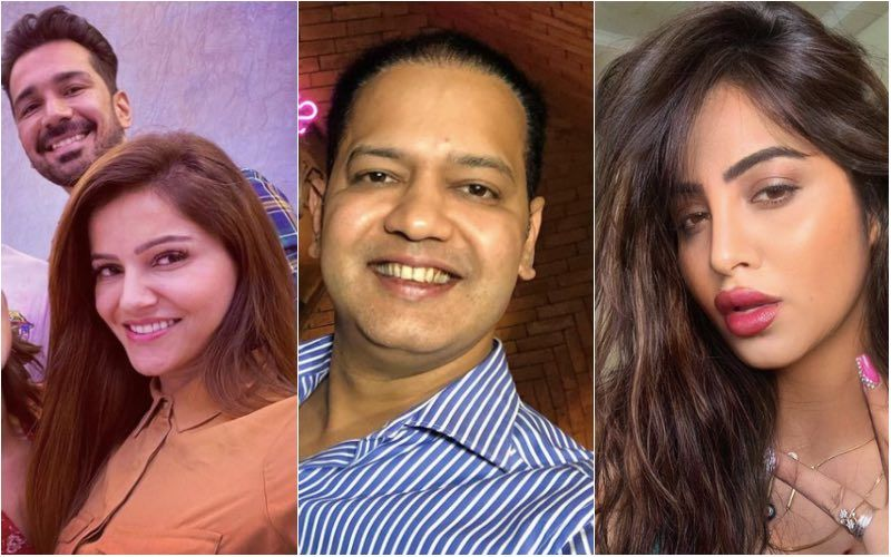 Bigg Boss 14's Rahul Mahajan, Rubina Dilaik, Abhinav Shukla, Arshi Khan Connect Via Video Call; It's Lockdown Meeting For BB Gang