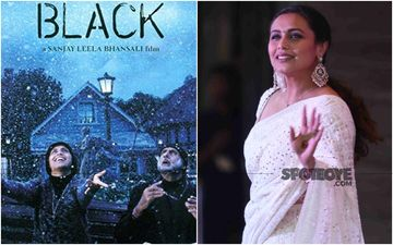 Black Completes 16 Years Of Release: 'Wasn't Very Confident That I Would Be Able To Pull Off The Role', Says Rani Mukerji