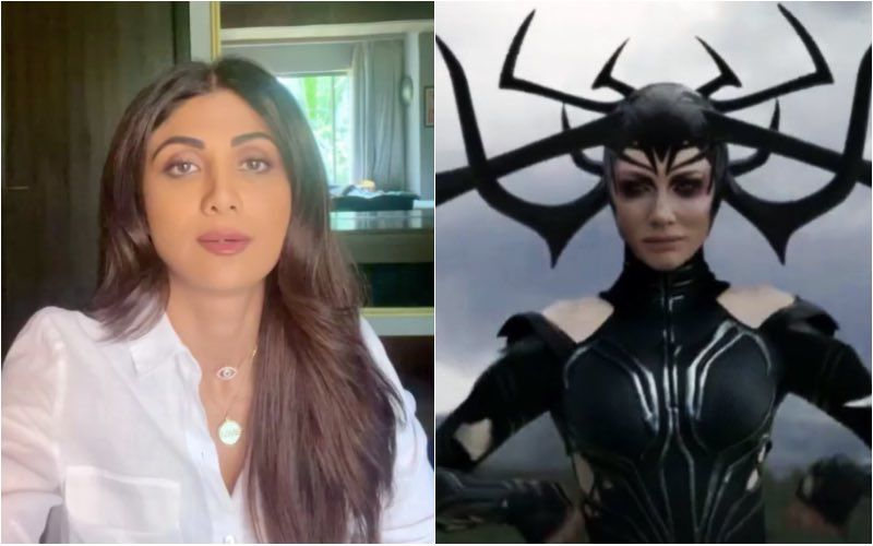 Shilpa Shetty's Family Tests Negative For COVID-19; Actor Shares A Funny Deepfake Video Of Herself As Hela From Thor Ragnarok
