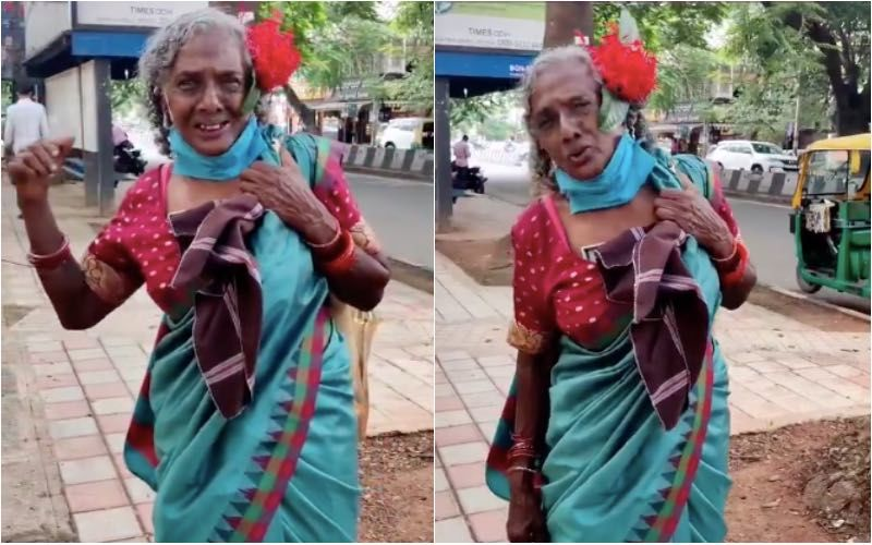 Netizens Are Amazed To See Ragpicker From Bengaluru Speaking Fluent English; Her Video Has Gone Viral