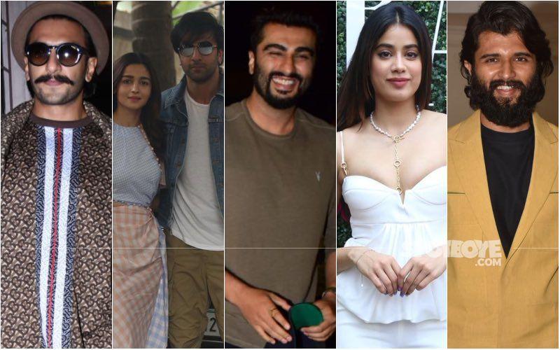 Ranveer Singh, Janhvi Kapoor, Ranbir Kapoor, Alia Bhatt, Vijay Deverakonda And More Attend Arjun Kapoor's 36th Birthday Bash