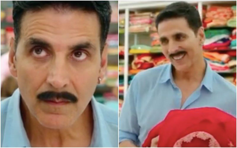 Laxmii New Promo: Red Sarees Overpower Akshay Kumar's Senses As He Confidently Tries To Drape It And Show Off – Video