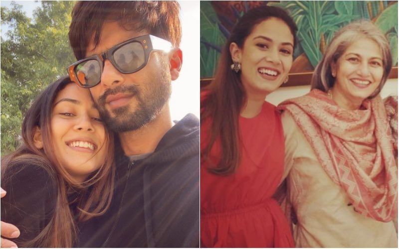 Mira Rajput Gives A Genuine Reply When Fan Asks Her To Choose Between Husband Shahid Kapoor And Mother Bela Rajput