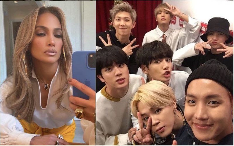 Jennifer Lopez And BTS Follow Each Other On Twitter; Are They Going To Collaborate For A New Peppy Track?
