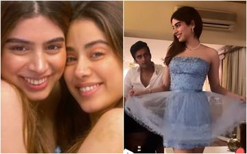 Janhvi Kapoor Gives A Glimpse Into Sister Khushi Kapoor's Birthday Celebration; Starlet Sizzles In A Cute Strapless Dress