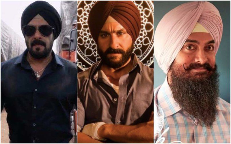Salman Khan, Saif Ali Khan, Aamir Khan: Khans Turn Turbnators - But Who's Got The Maximum Swag?