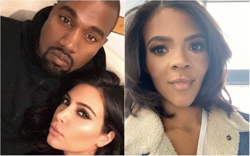 Post Divorce From Kim Kardashian, Kanye West Dating Candace Owens? Here's The Truth