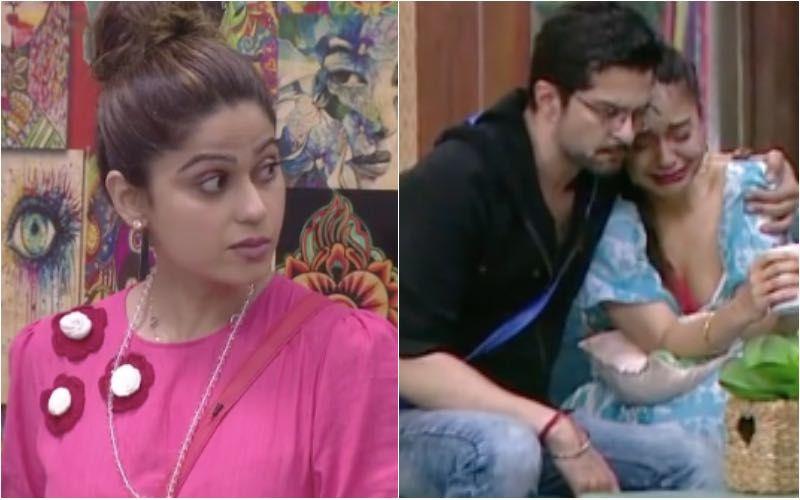 Bigg Boss OTT: Shamita Shetty Feels Jealous As Raqesh Bapat Consoles An Upset Divya Agarwal; He Then Kisses Her On Cheeks-Watch