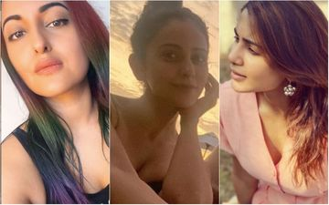 Sonakshi Sinha, Rakul Preet Singh And Samantha Akkineni Explore Their Inner Water Baby As They Chill In Maldives Amidst Coronavirus Pandemic – See Pics