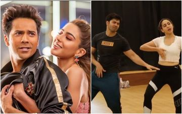 Coolie No 1 Song Husnn Hai Suhaana New UNSEEN BTS: Varun Dhawan And Sara Ali Khan Show How They Aced The 90s Tadka– VIDEO
