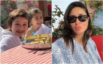 Kareena Kapoor Khan Shares The Most Endearing Picture Of Taimur Ali Khan And Inaaya Kemmu But Bebo Has Her Eyes On Something Else