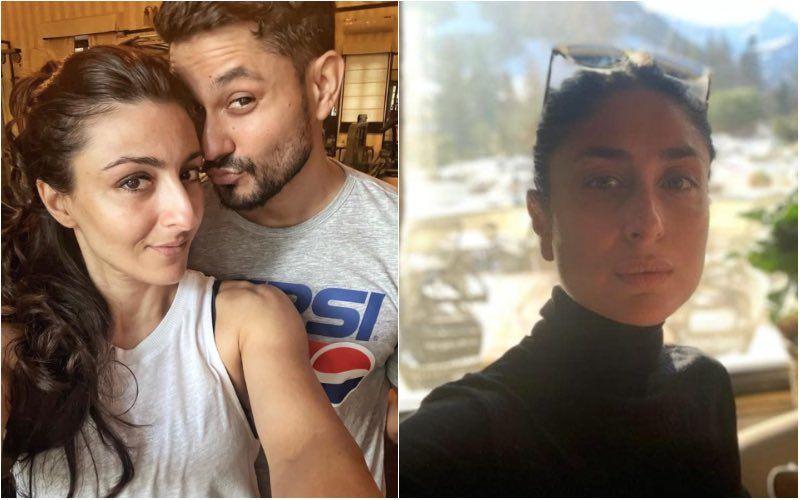 Kunal Kemmu And Soha Ali Khan Get Snapped Along With Daughter Inaaya At Kareena Kapoor Khan's House; What's The Occasion? — Video