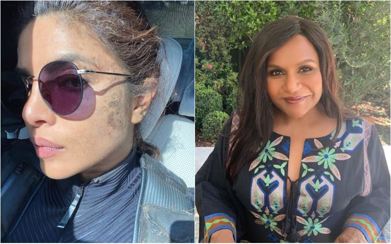 Citadel: Priyanka Chopra Flaunts Her Muddy Face After A 'Messy Day At Work', But Mindy Kaling Wants To Call That A 'New Makeup Trend'