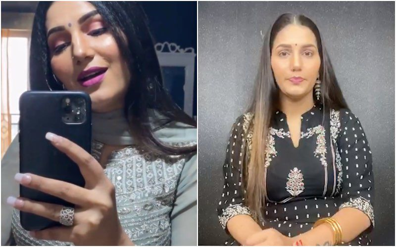 Bigg Boss 11 Fame Sapna Choudhary Flaunts Her Dolled-Up Sexy Desi Look With Panache – See Pics