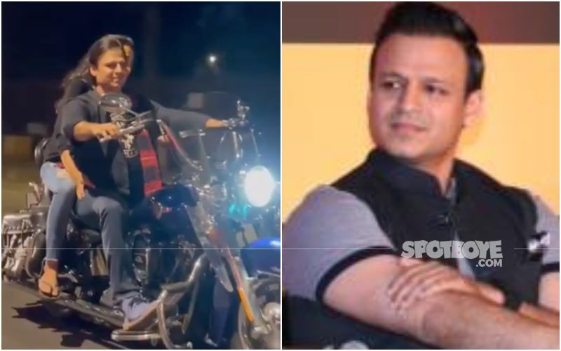 Vivek Oberoi's Valentine's Day Video Riding Bike With Wife Lands Him In Trouble; Mumbai Police Fines Him For Riding Without Helmet, Mask