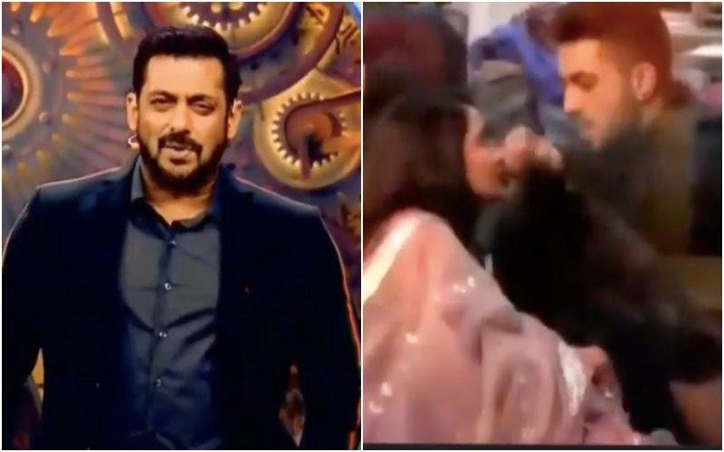 Bigg Boss 14 WEEKEND KA VAAR: Lovebirds Aly Goni-Jasmin Bhasin Get All Romantic; Salman Khan Does The Garmi Hook Step - VIDEO