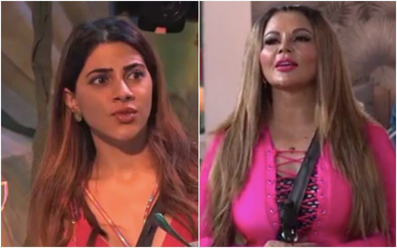 Bigg Boss 14: Rakhi Sawant Makes A Personal Comment On Nikki Tamboli; Latter Gets Irked And Calls Her 'Plastic'