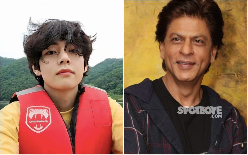 BTS' V Channels Inner Shah Rukh Khan As He Pulls Off King Khan's Signature Pose For Photoshoot; Netizens Can't Keep Calm — See Pic