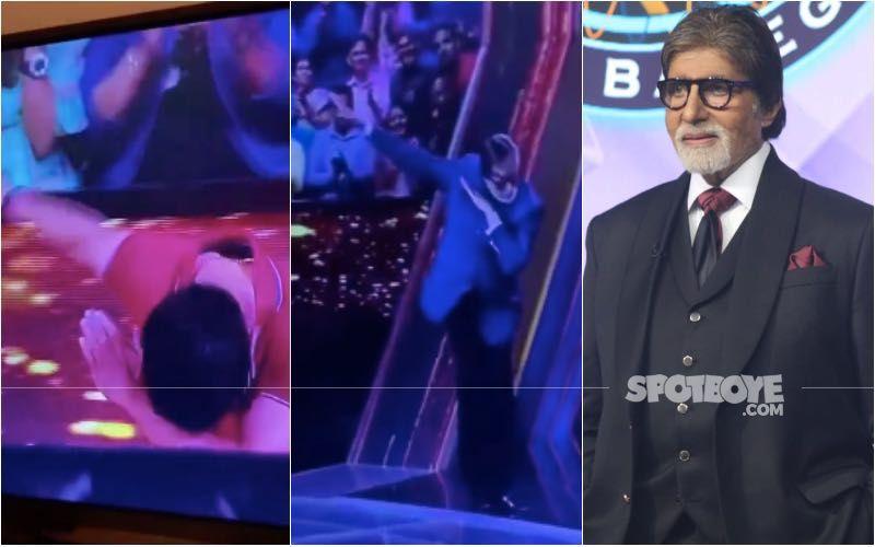 Kaun Banega Crorepati: An Old Video Of Amitabh Bachchan's 'Awkward Dab' Sends Internet Into A Meltdown; Netizens Call Him 'Amitabh Dabcchan'- Watch