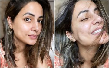 Bigg Boss 14's Toofani Senior Hina Khan Treats Fans With Her Au Natural Photos; Her Radiant Glow Will Make You Awestruck – See Pics