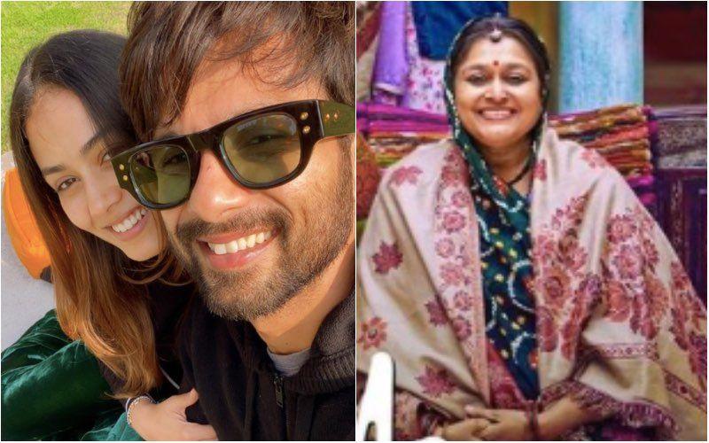 Supriya Pathak Calls Shahid Kapoor 'Main Anchor' Of Their Family; Says Mira Rajput Is 'A Great Cook'