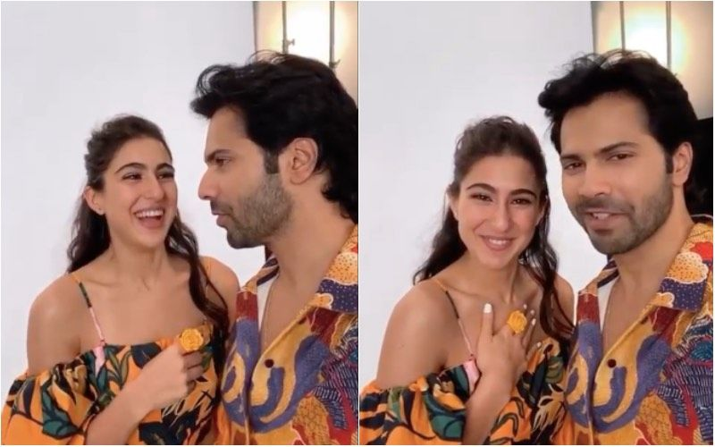 Coolie No 1: Sara Ali Khan Leaves Varun Dhawan Speechless With Her Hilarious 'Knock Knock' Joke; Latter Exclaims 'Oh God' – Video