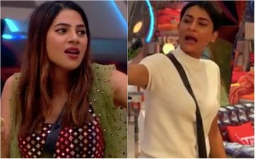 Bigg Boss 14: Pavitra Punia And Nikki Tamboli Get Into A Huge Argument; Former Questions Her Upbringing; Says: 'Yehi Hai Iske Sanskaar' – Video