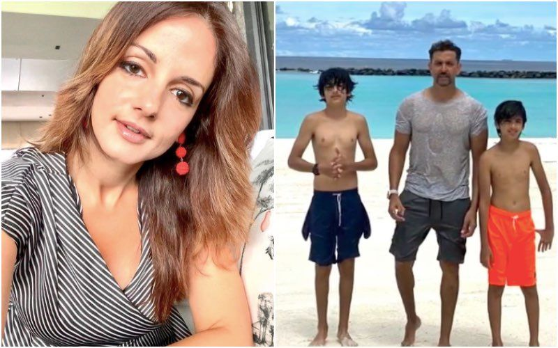 Hrithik Roshan Birthday: Sussanne Khan Makes A Sweet Wish For Ex-Husband Rye; Shares Unseen Pictures, Calls Him The Best Dad In The World