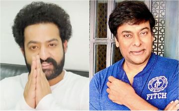 After Jr NTR Tested Positive For COVID-19 Chiranjeevi Speaks To RRR Actor On Call; Shares An Update About His Health