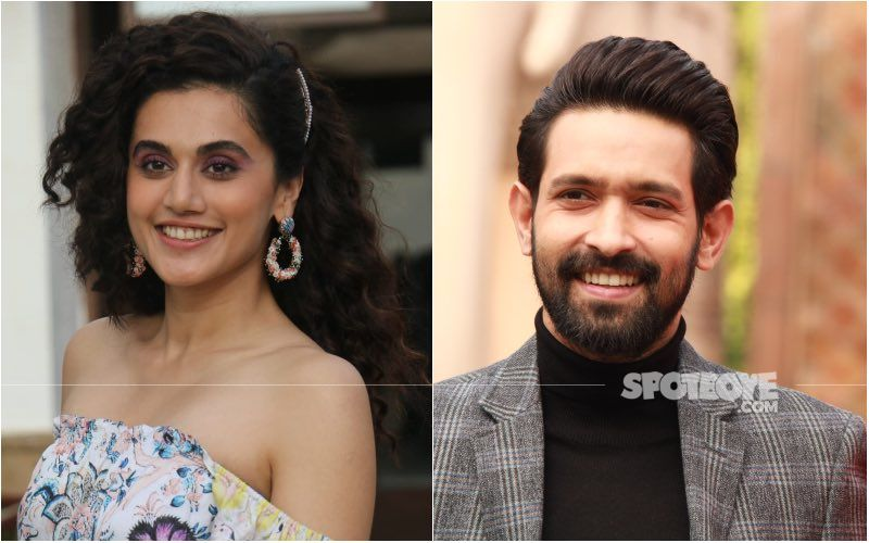 Haseen Dillruba Stars Taapsee Pannu And Vikrant Massey Had To 'Give Up' Shooting While Filming A Scene; Here's Why — EXCLUSIVE INTERVIEW