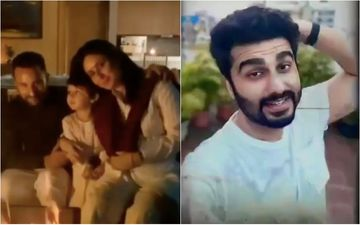 Kareena Kapoor Khan Shares A Candid Moment Of Taimur Resting On His Abba Saif's Shoulders But The Internet Is Thanking Arjun Kapoor For It, Here's Why